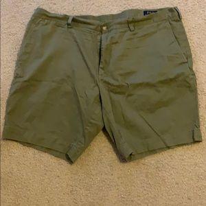 "Polo shorts, XXL 9"" inseam"